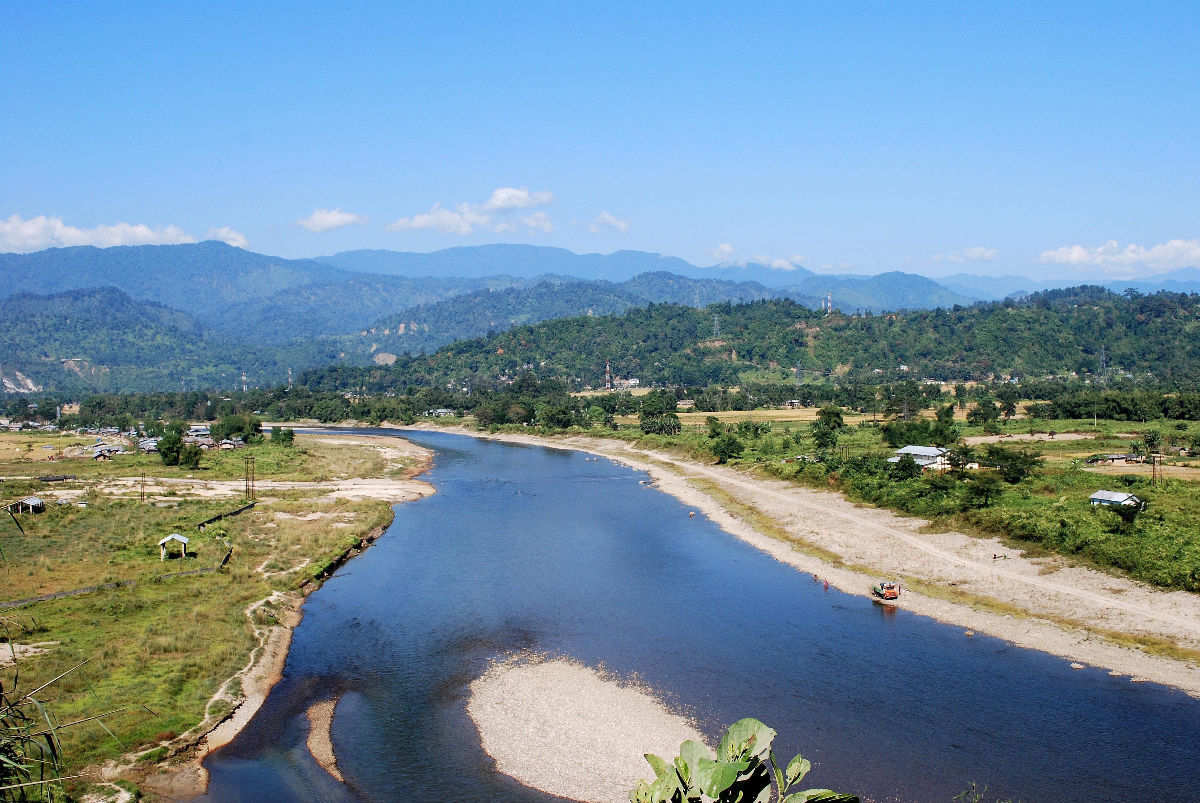 File dikrong river near itanagar jpg wikimedia commons