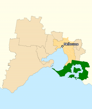 Division of Flinders 2010.png