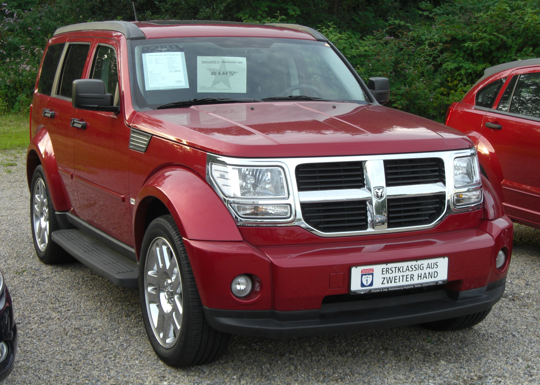 file dodge nitro 2 8 crd wikimedia commons. Black Bedroom Furniture Sets. Home Design Ideas