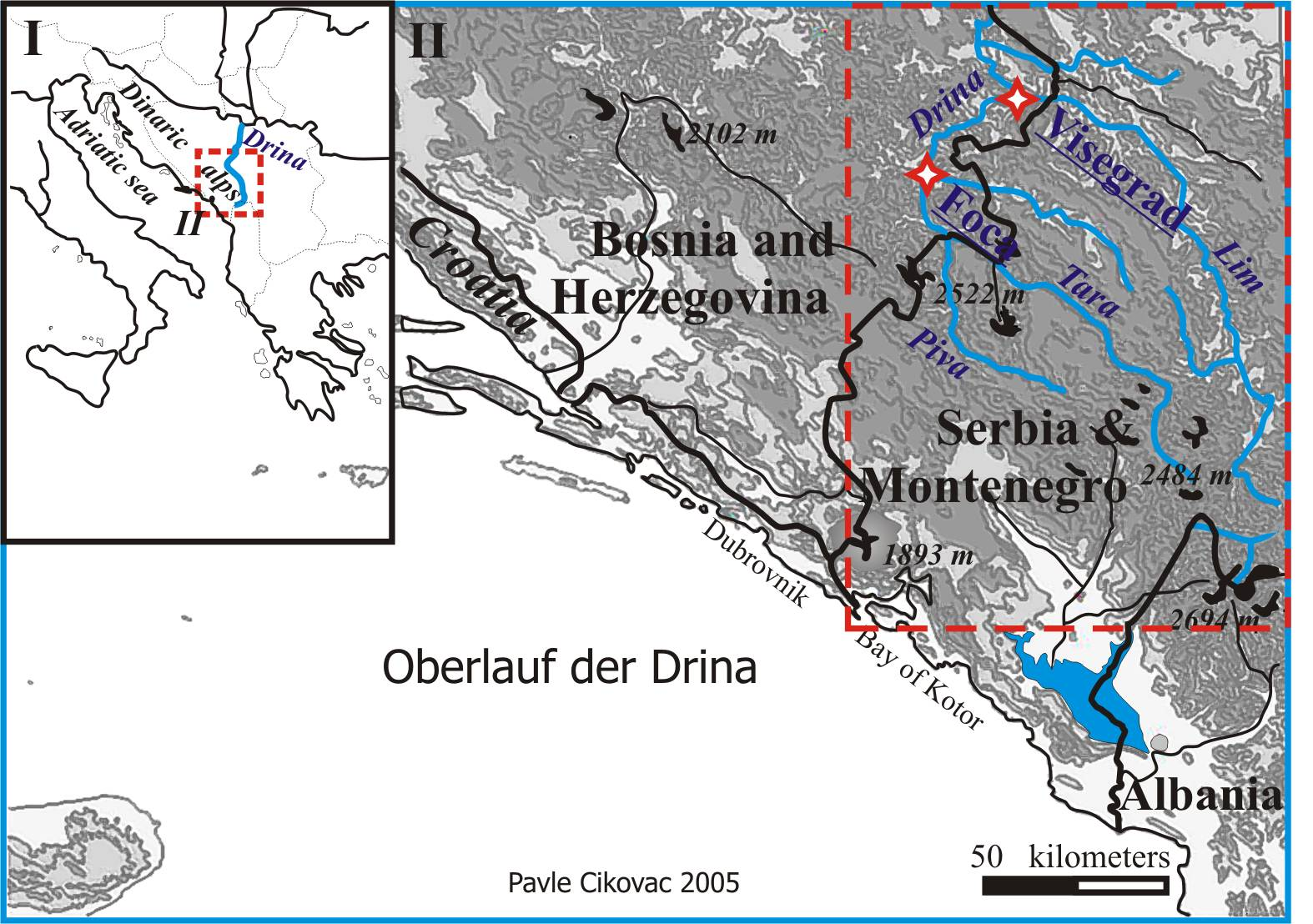 Geography of Montenegro