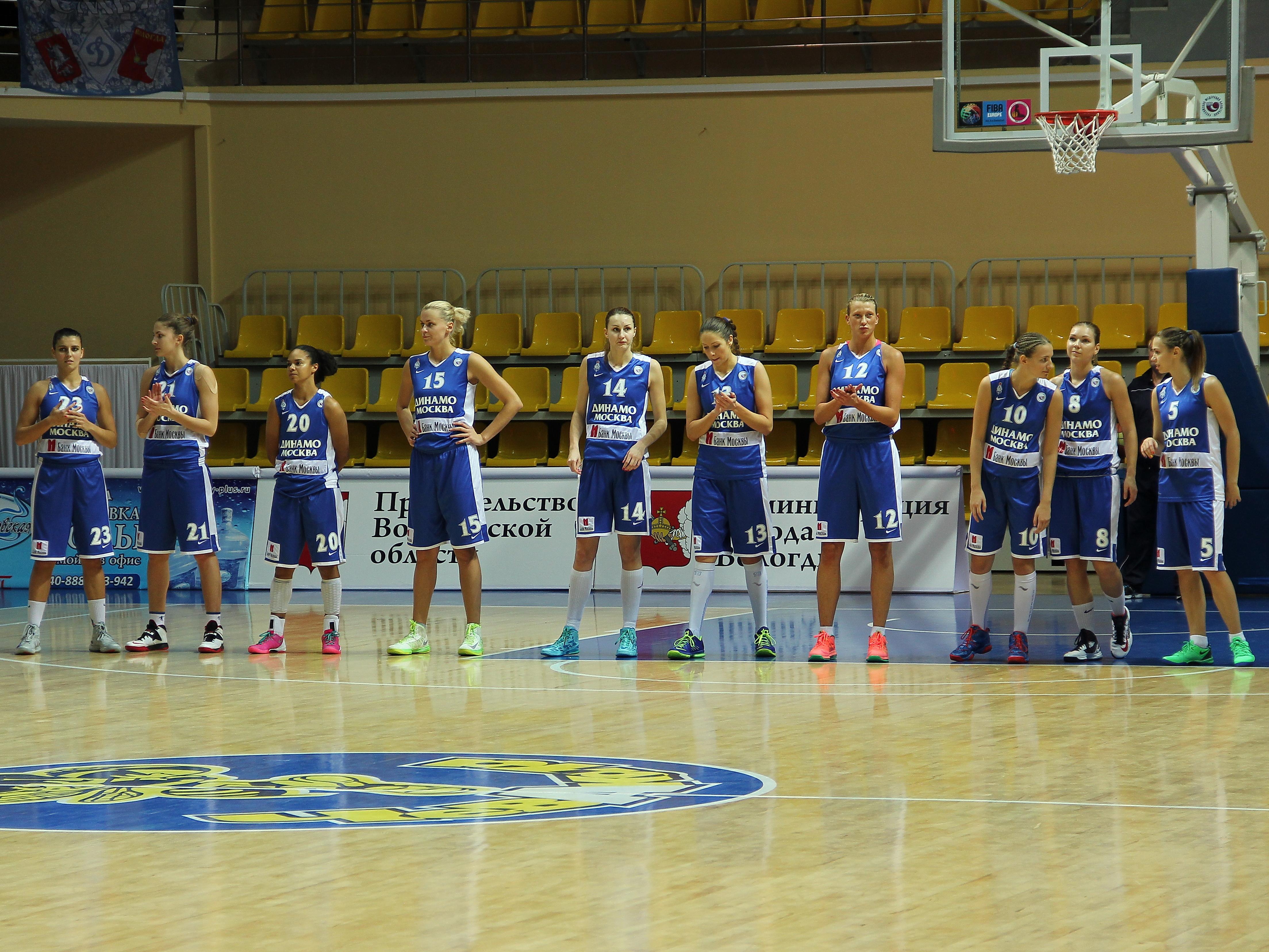 Баскетбольная клуб динамо москва ночной клуб г киров