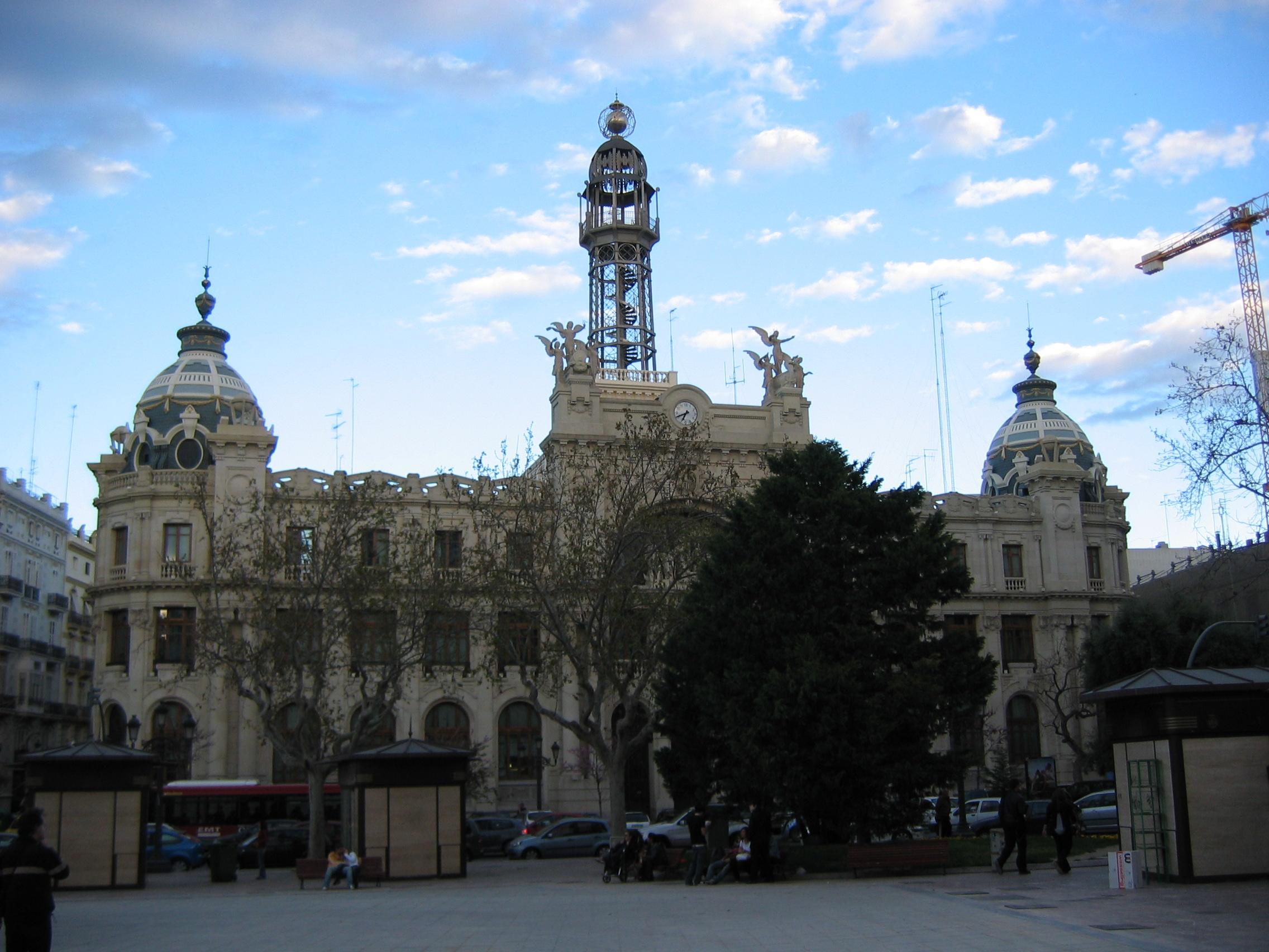 File edificio de correos for Horario oficina de correos valencia
