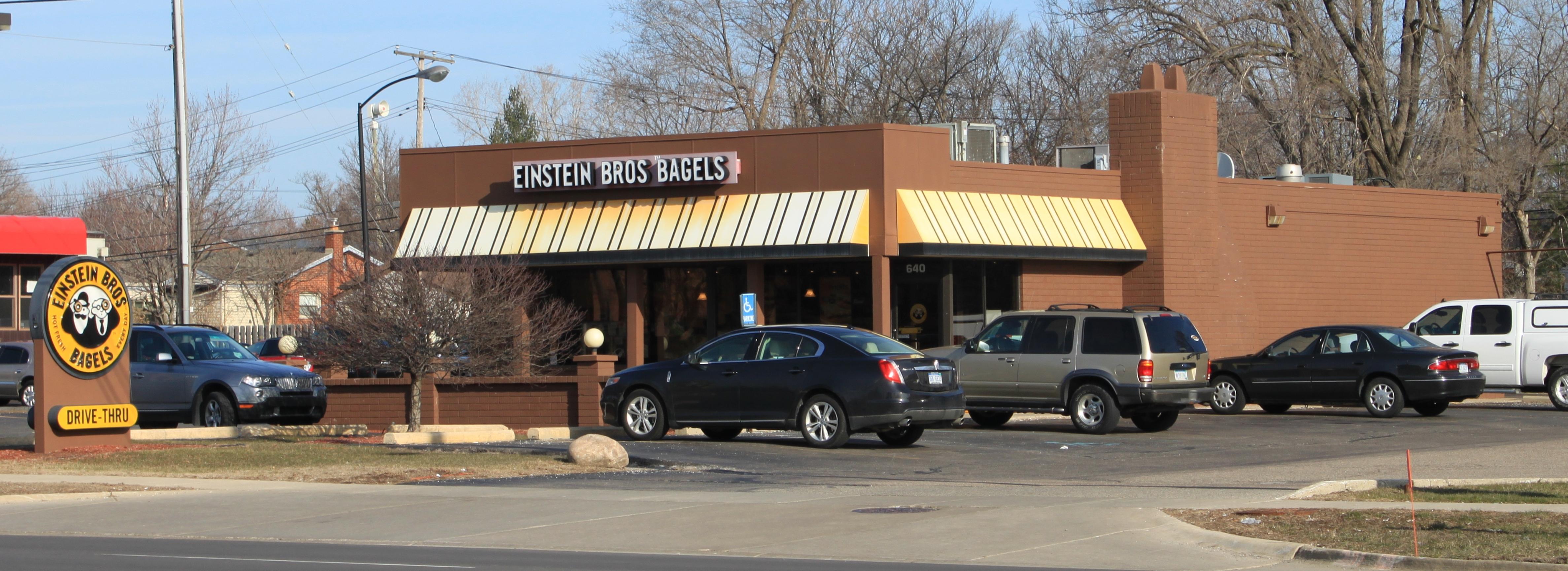 Einstein bagels plymouth