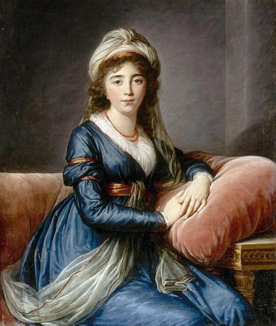 Художница Виже-Лебрён, 1796 год