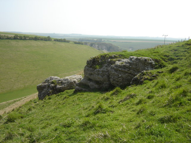 Fairy Stones above Fairy Dale. - geograph.org.uk - 1035927