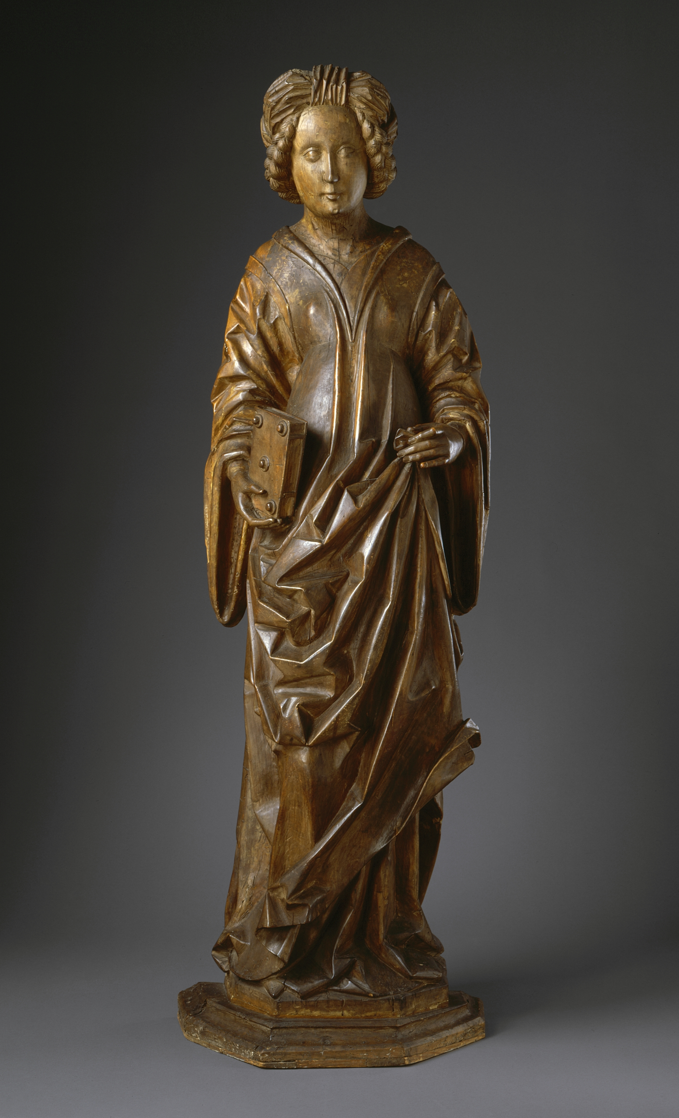 the sculpture of mary magdalene Mary magdalene penitent  pedro de mena 1664 room 19 this is one of mena's most personal creations and a masterpiece of spanish sculpture thanks to the masterly.