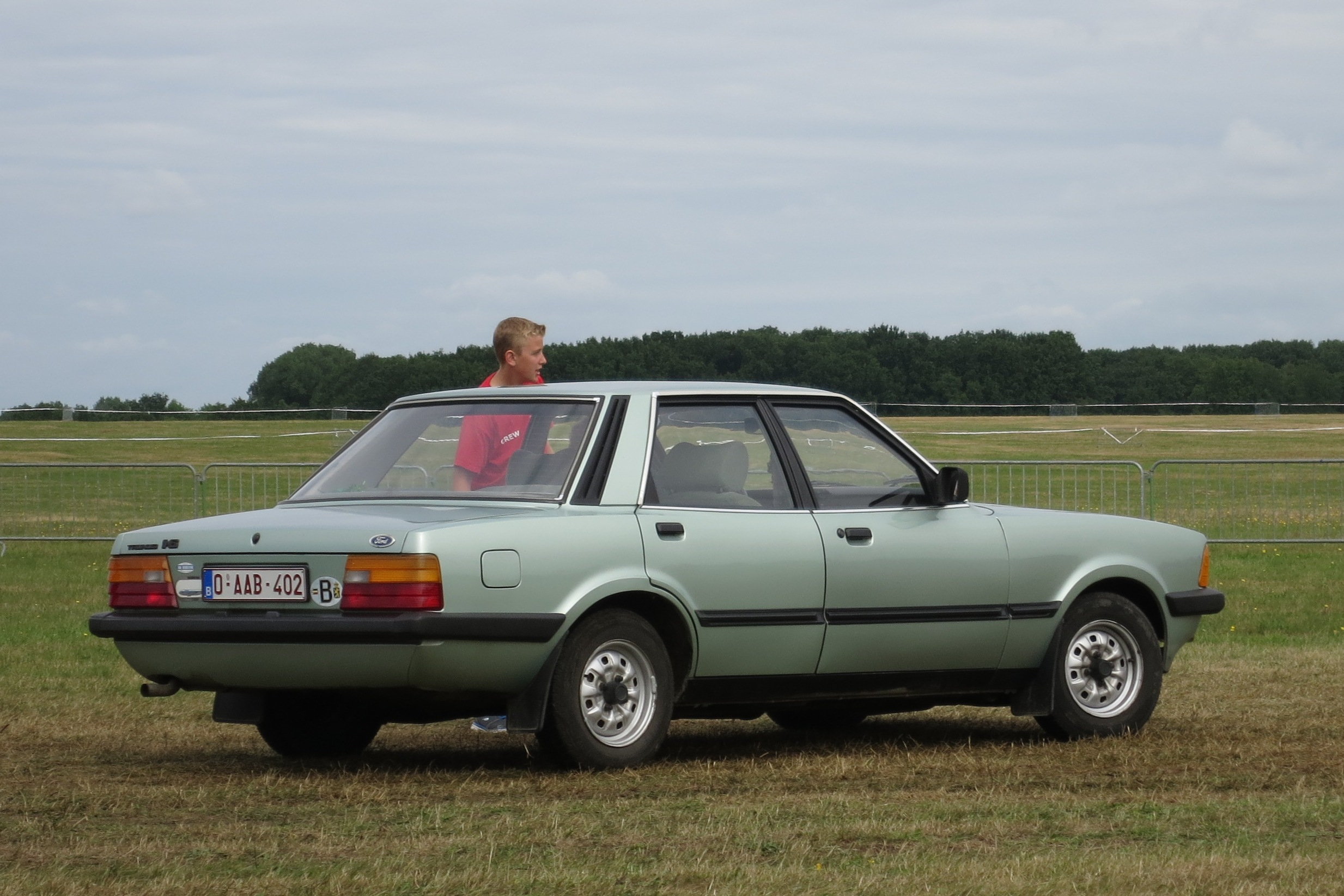 Build Your Own Ford >> File:Ford Taunus TC3 at Schaffen-Diest in 2015 rear three quarters.JPG - Wikimedia Commons