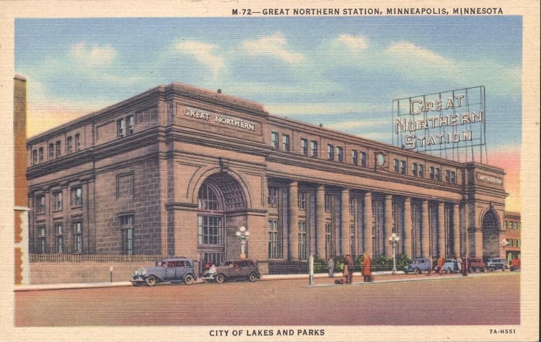 Minneapolis Great Northern Depot - Wikidata