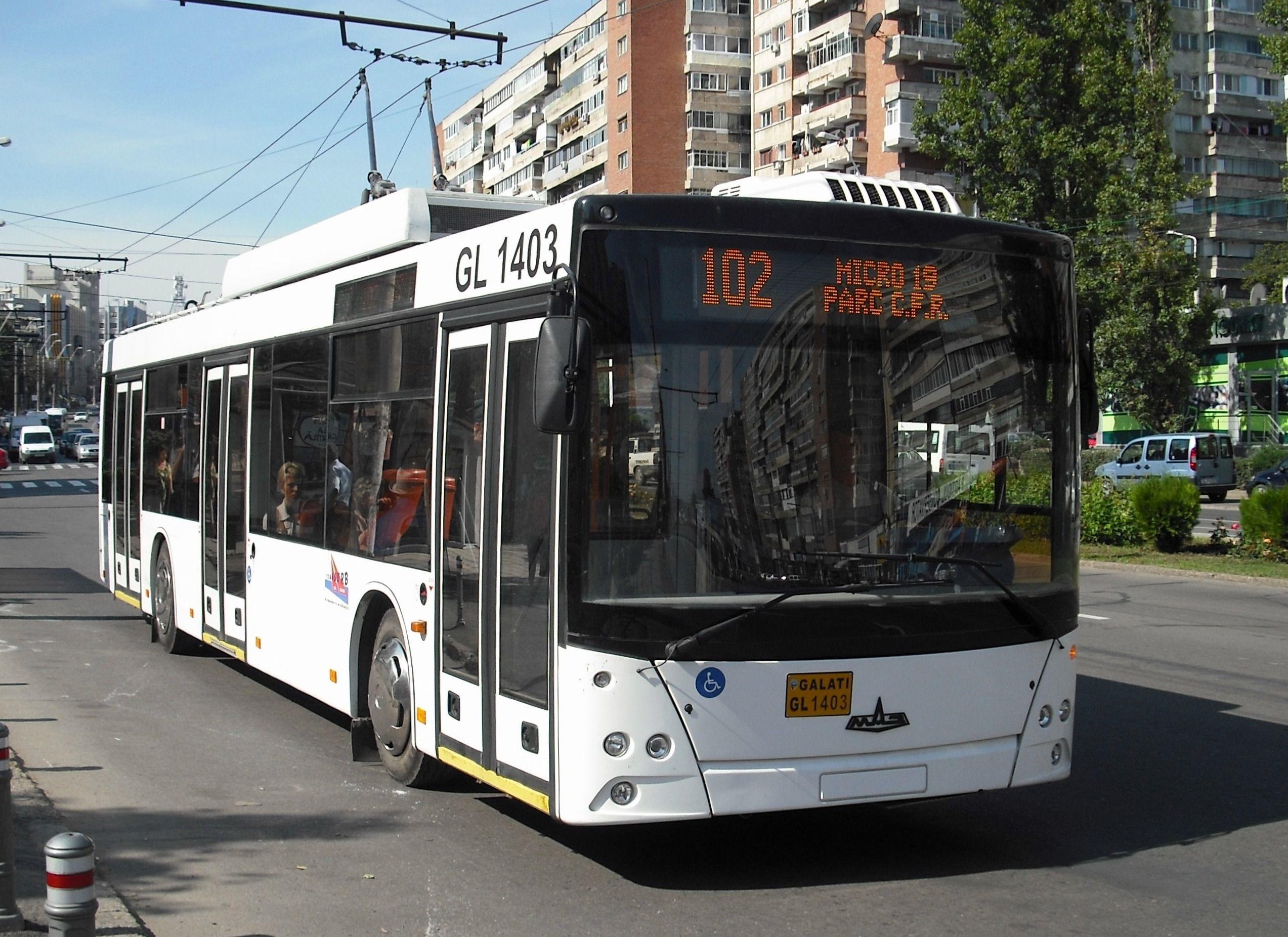 FileGalati MAZ Trolleybus 1403