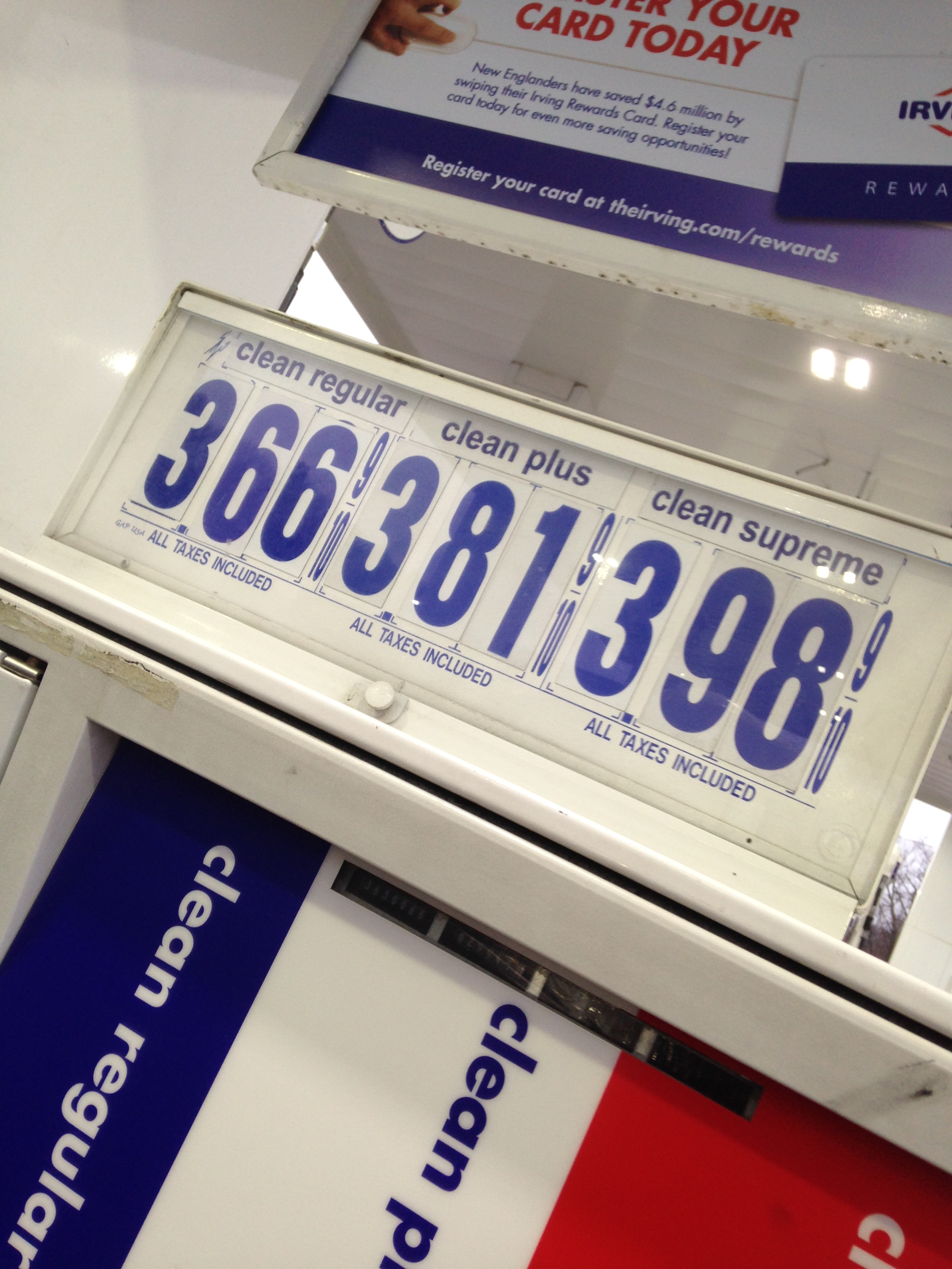 filegas prices in new hampshirejpg - Irving Rewards Card