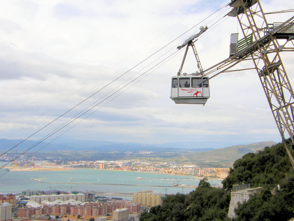 day trip to gibraltar cable car