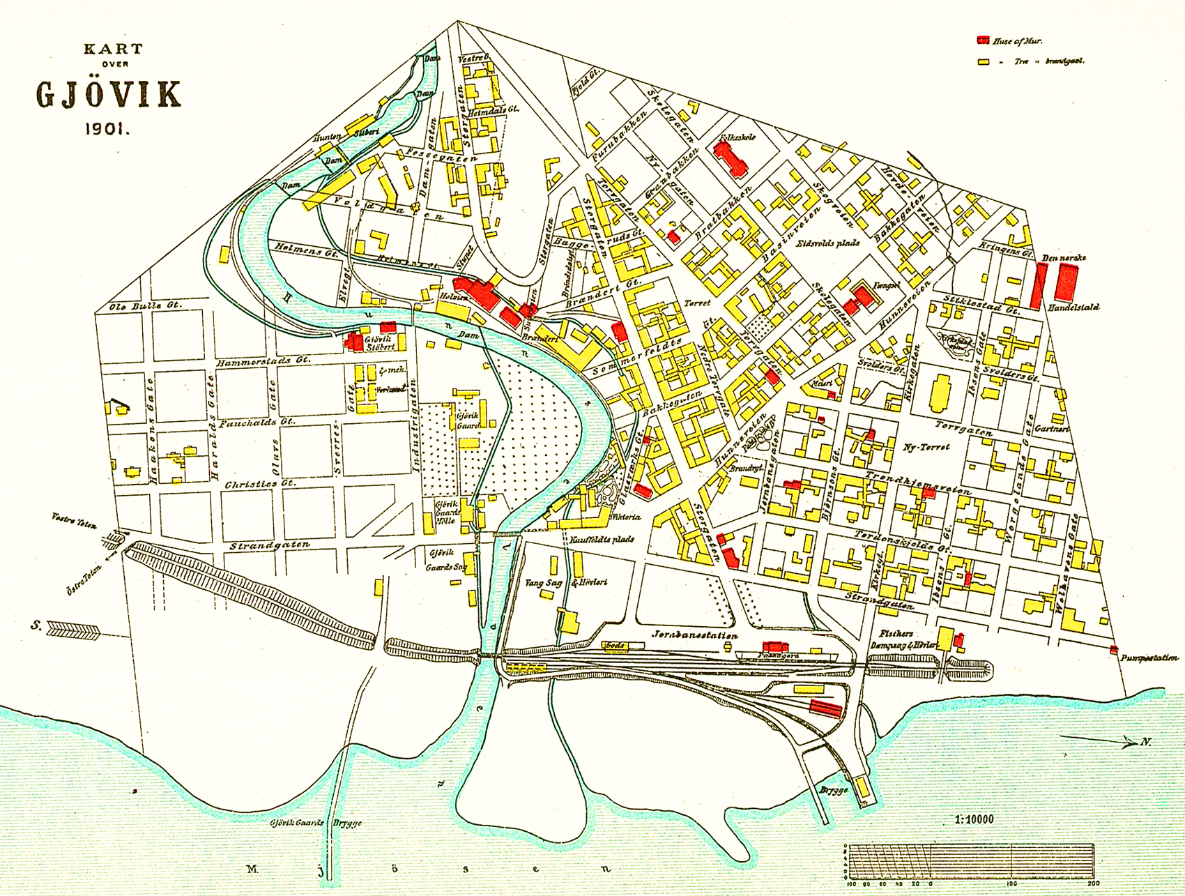 kart over gjøvik Fil:Gjøvik map 1901. – Wikipedia kart over gjøvik
