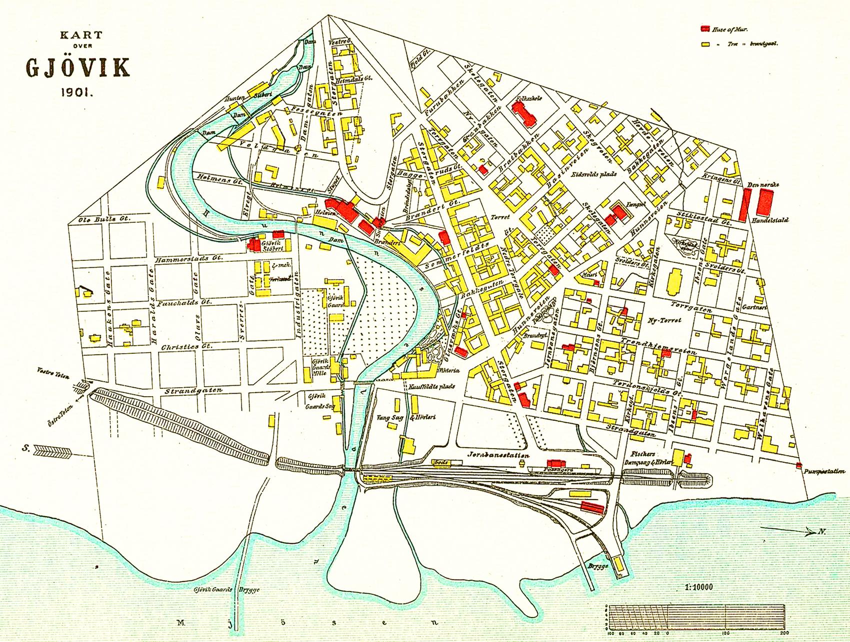 kart gjøvik Fil:Gjøvik map 1901. – Wikipedia kart gjøvik