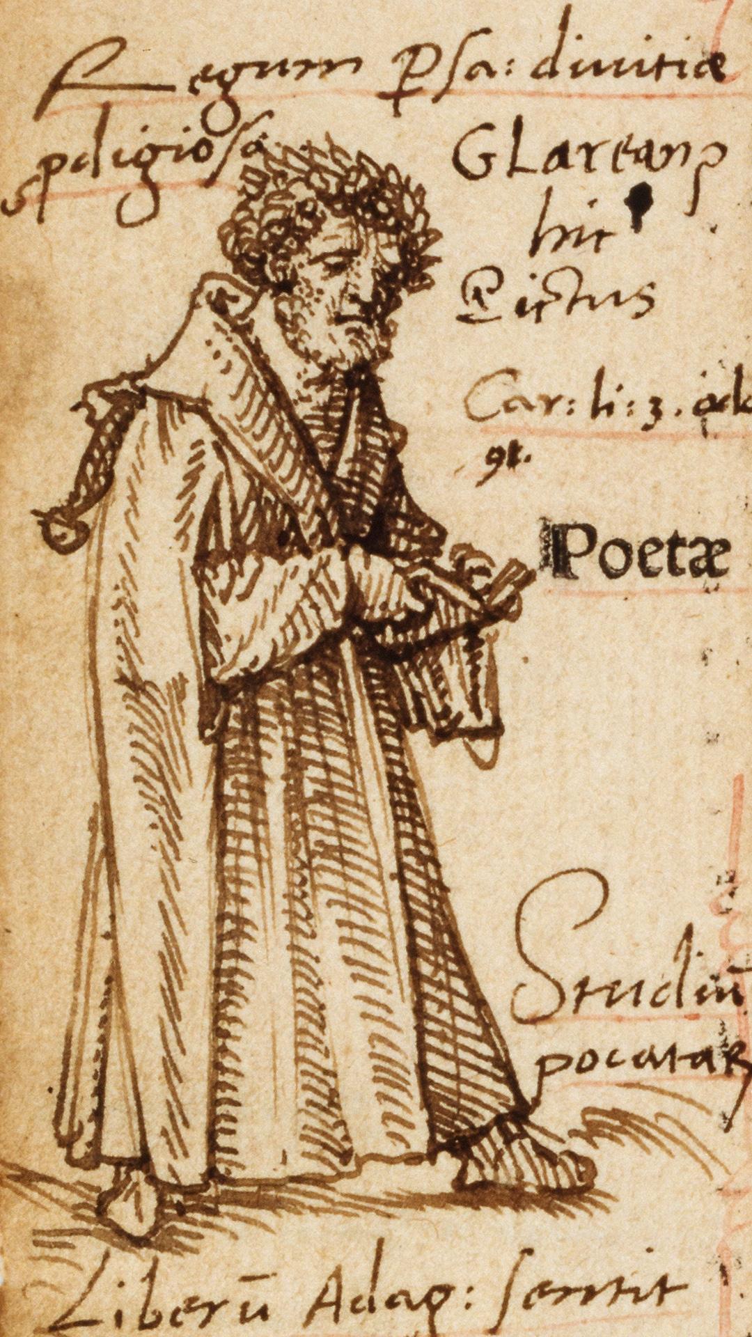 Glarean-Holbein, Henricus Glareanus