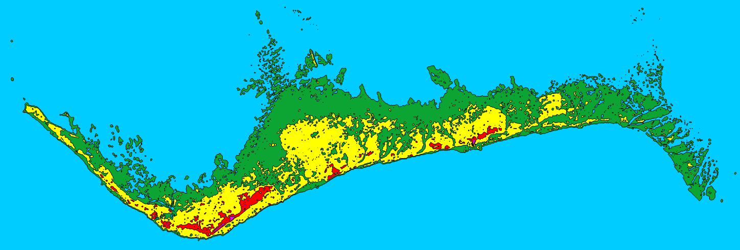 Bahamas Elevation Map