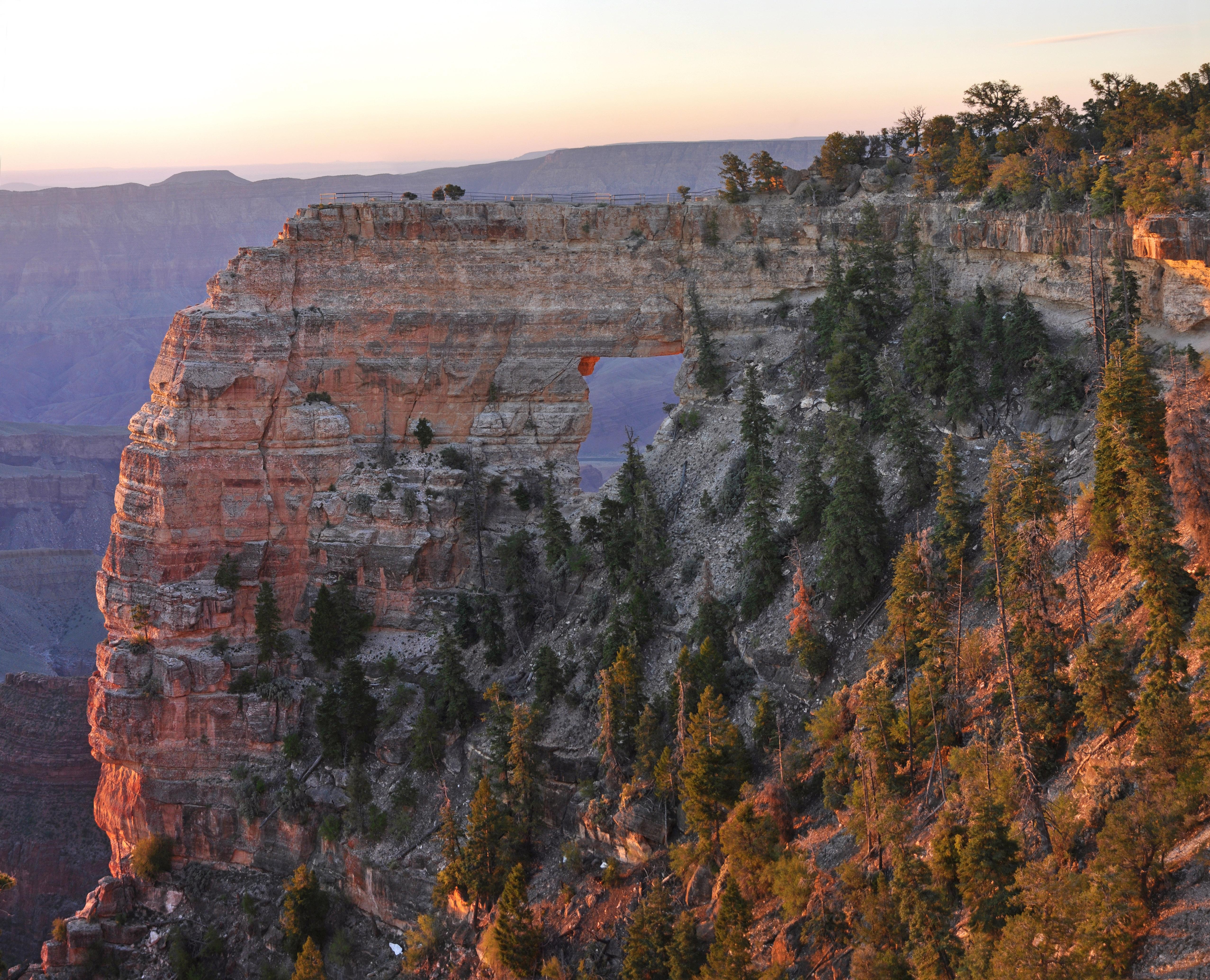 File:Grand Canyon National Park, North Rim Sunrise on Angel's ...