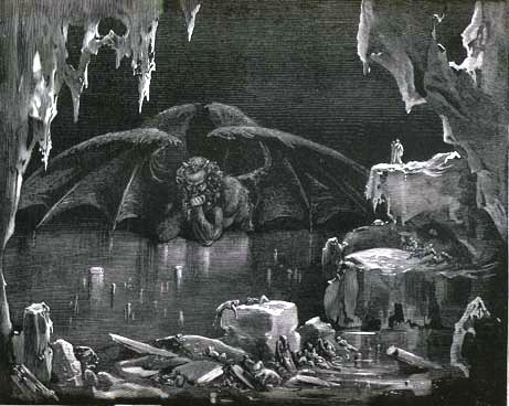 Dore Illustration of Satan