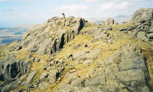 Harter Fell summit - geograph.org.uk - 1044833