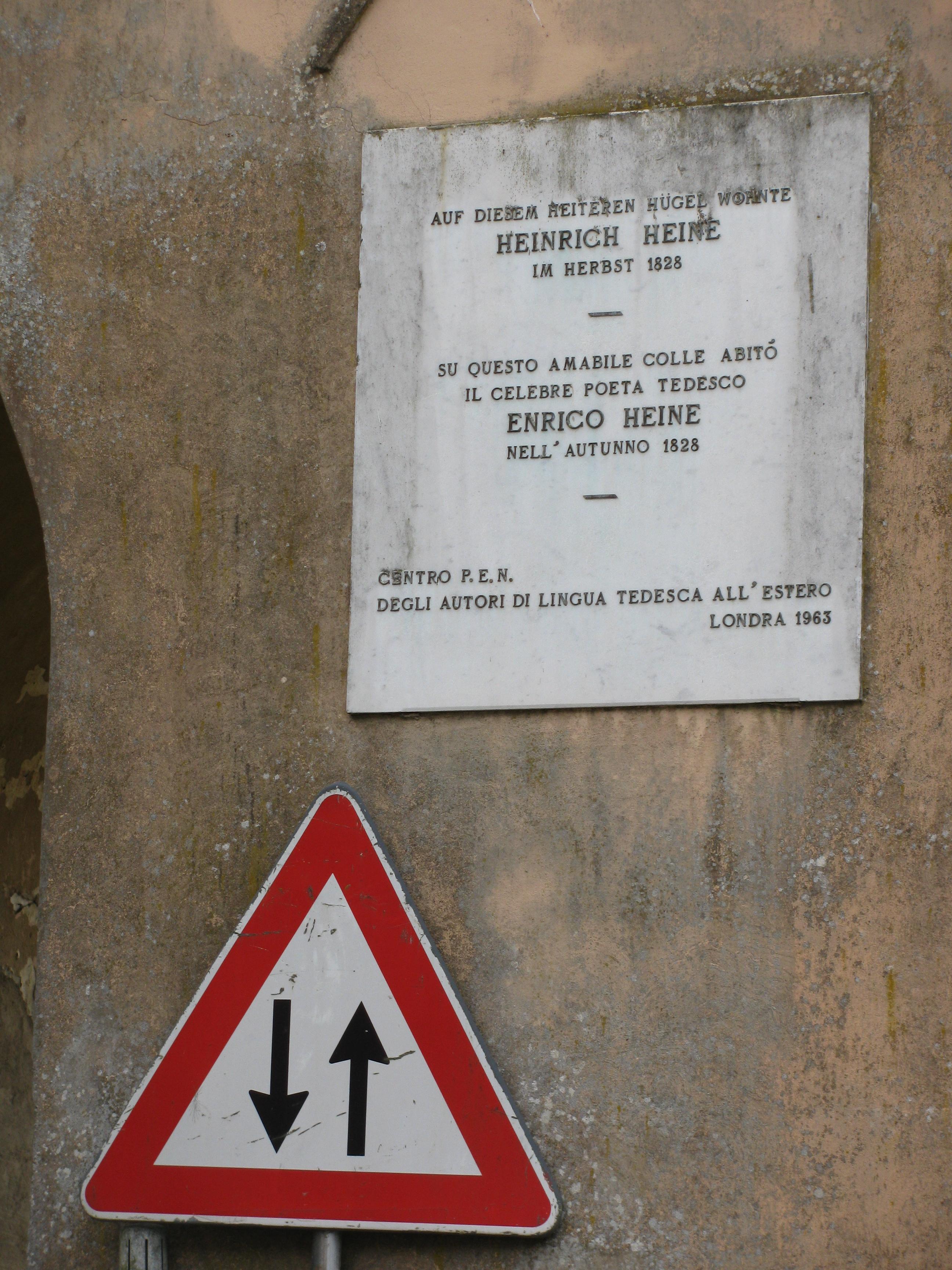 File:Heinrich-Heine Gedenktafel in Bagni di Lucca.jpg - Wikimedia ...