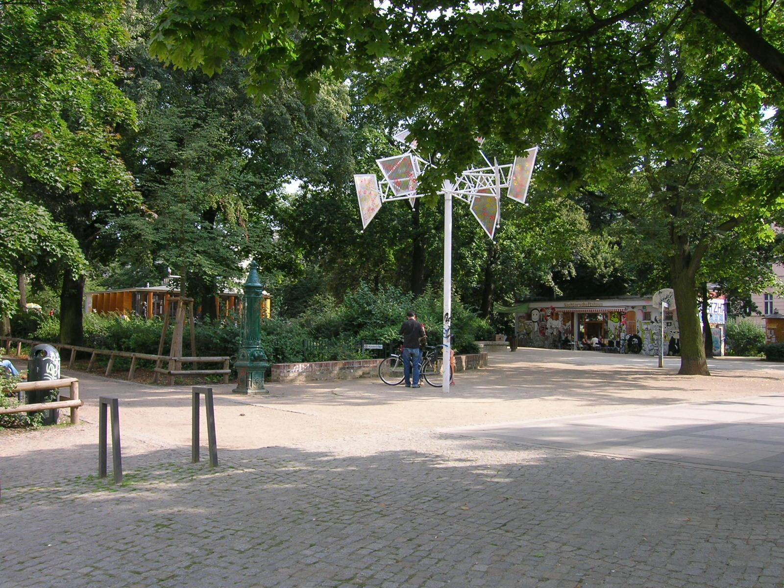 Helmholtzplatz, Prenzlauer Berg, Berlin - Quelle: Wikimedia