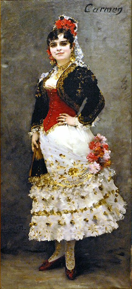 Galli-Marié as Carmen