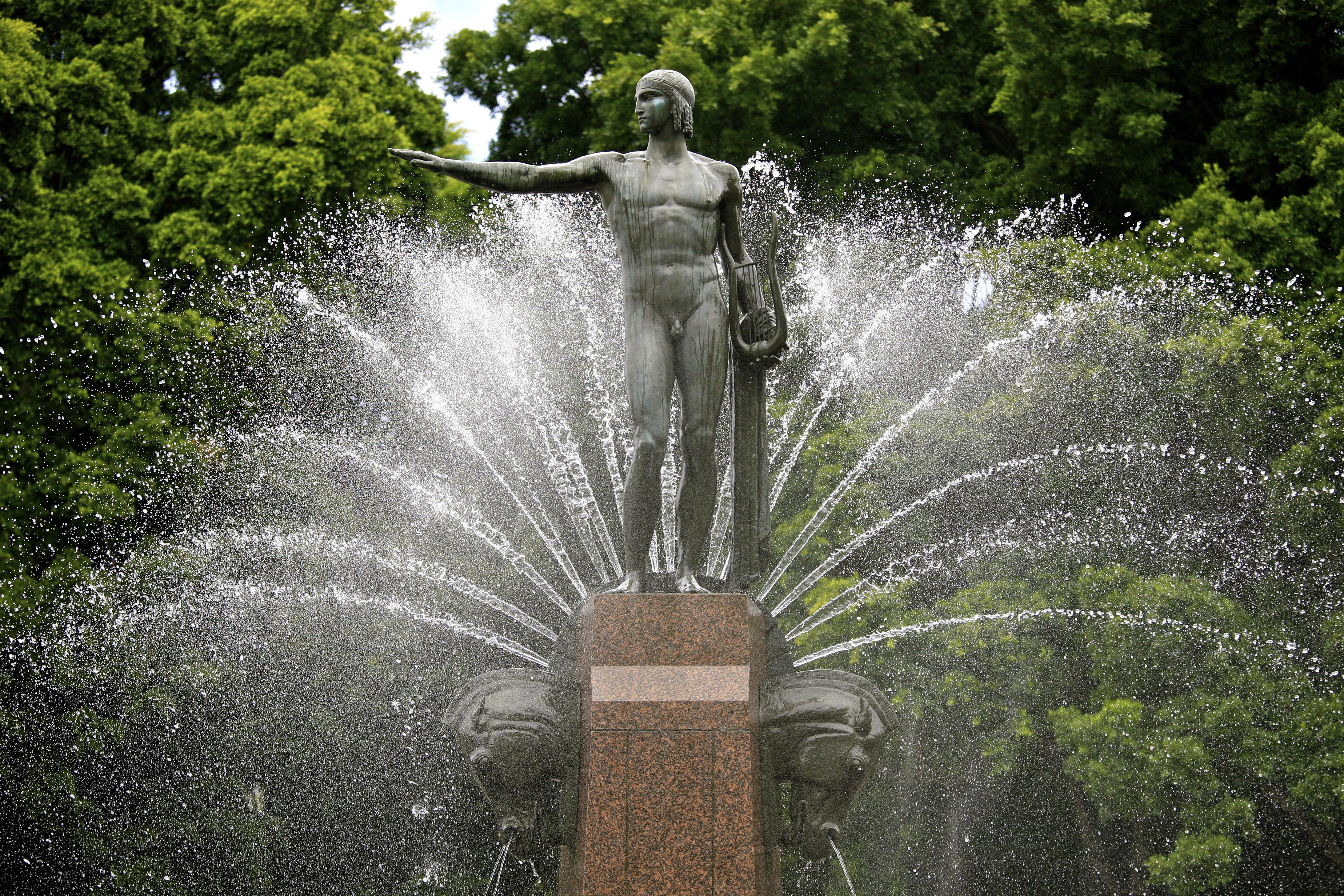 Water fountains hyde park - File Hyde Park Fountain Sydney 6604859529 Jpg