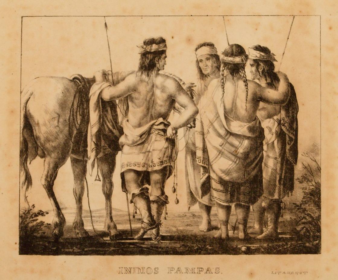Indios pampas (Serie Ibarra)