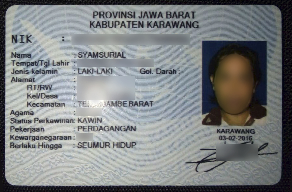 Indonesian identity card - Wikipedia