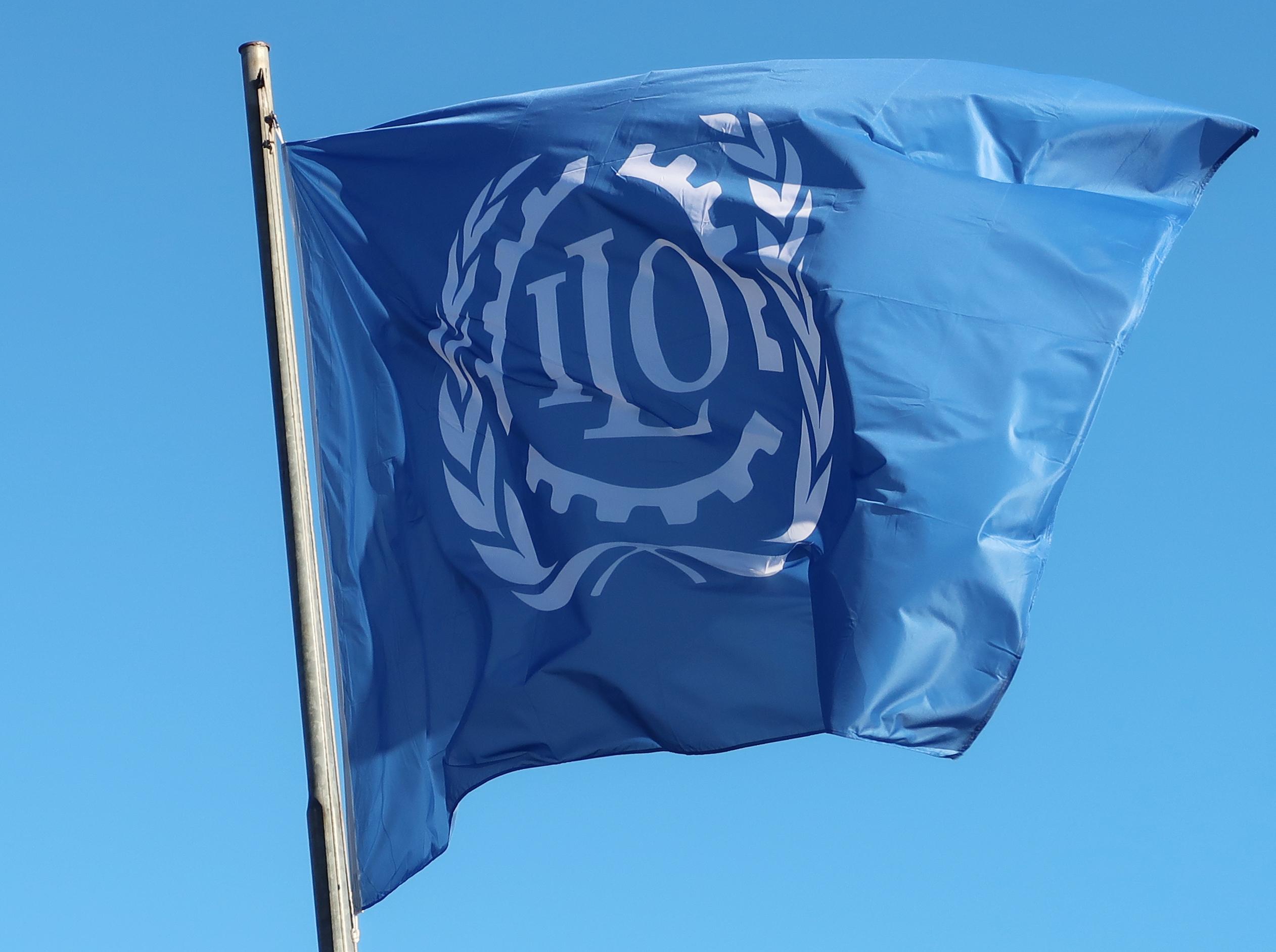International Labour Organization flag