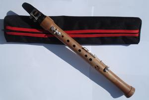 Chalumeau Woodwind instrument; predecessor of modern clarinet