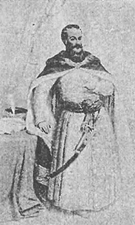 Ян Ходкевич. Гравюра XIX ст. со старого портрета