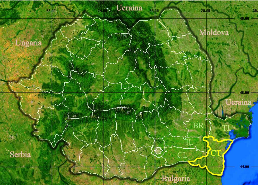 Fișier Judetul Constanta 3d Map Jpg Wikipedia