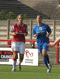 Julie Fleeting British footballer