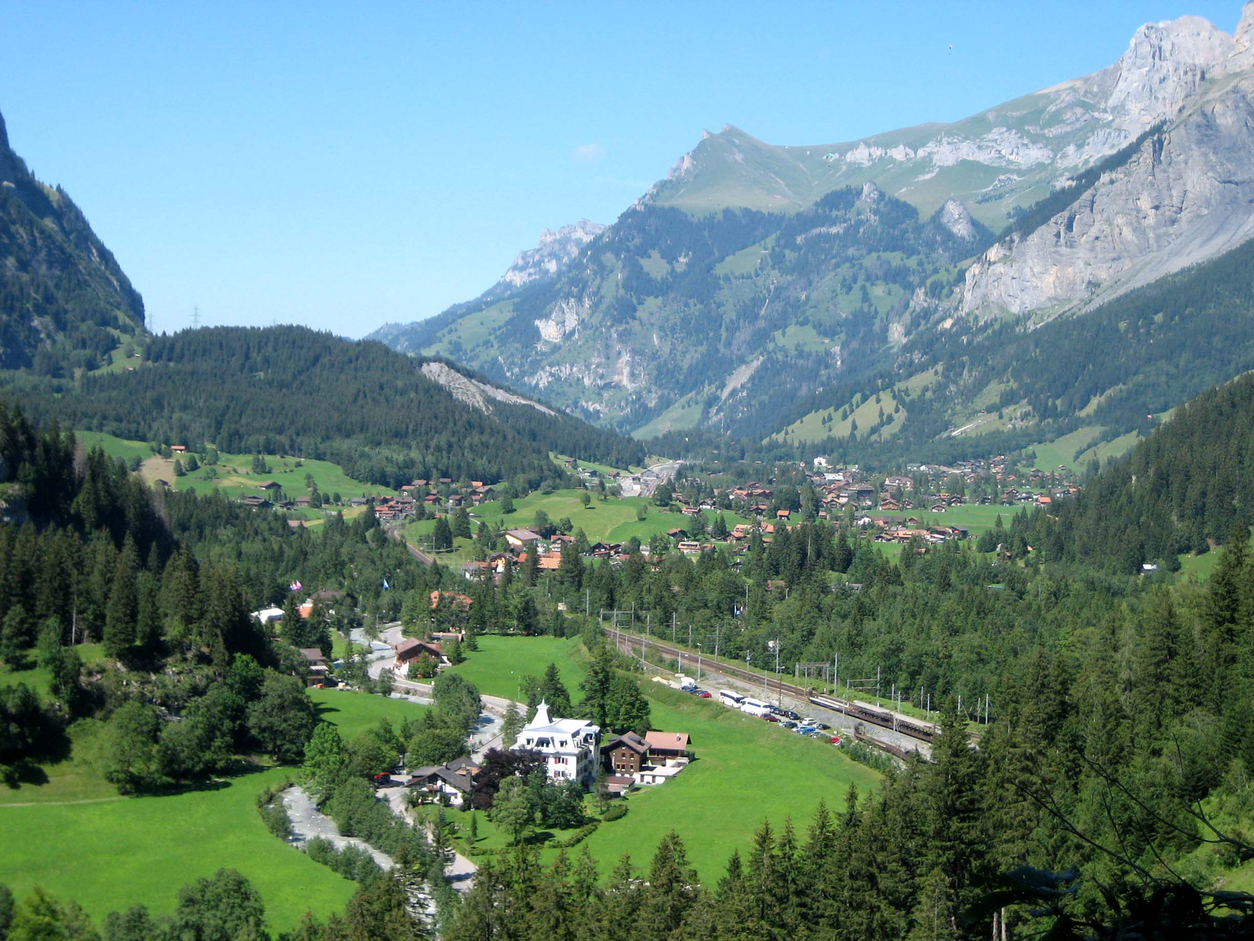 Kandersteg Switzerland  city photos gallery : Description Kandersteg Ansicht