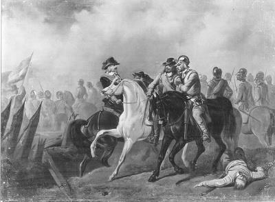 Karel Frederik Bombled - Anno 1640. Hendrik Casimir van Nassau sneuvelt voor Hulst - SA 4867 - Amsterdam Museum