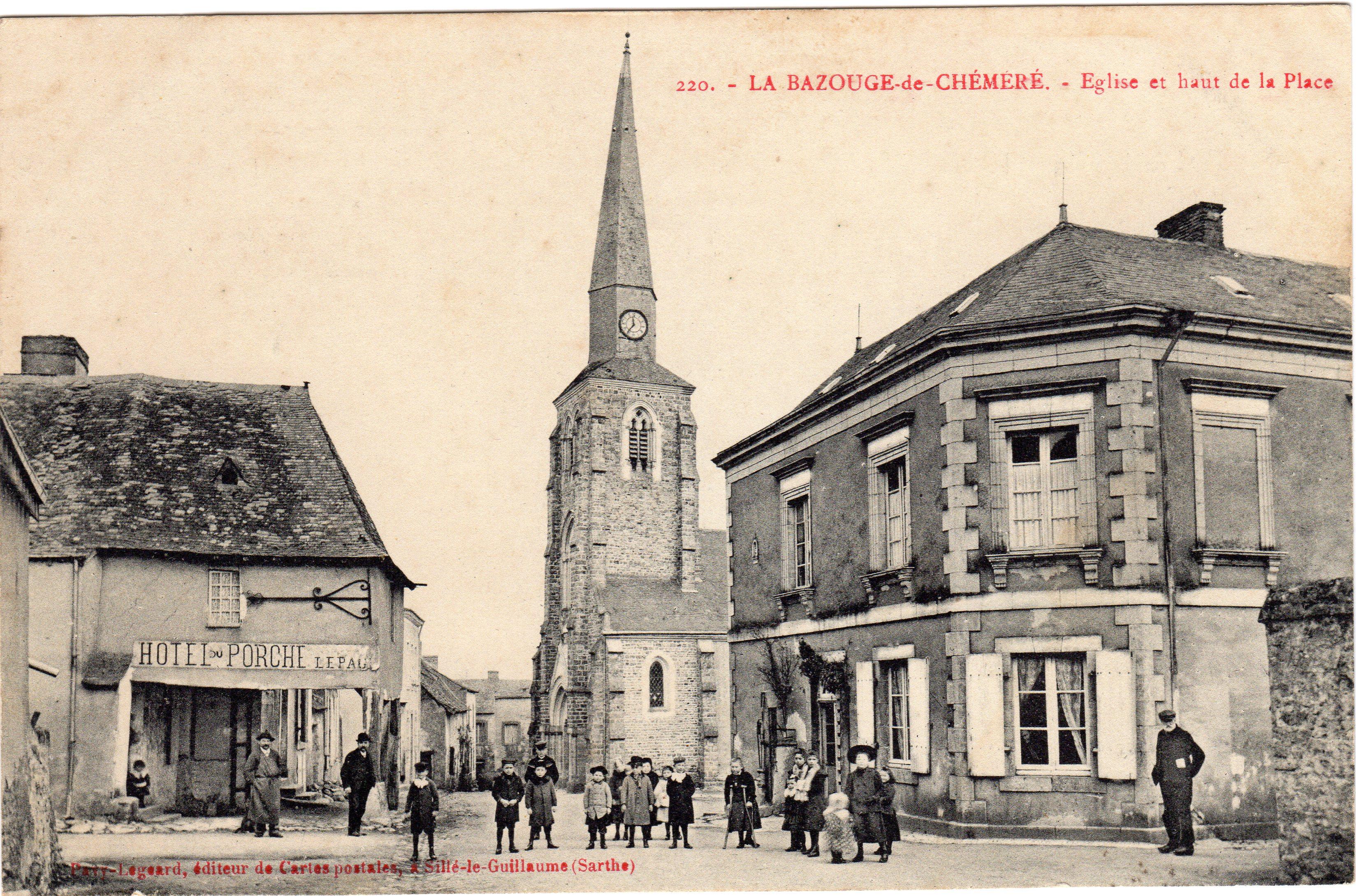 La Bazouge de Chemeré LBDC_Cpa_avant_1926