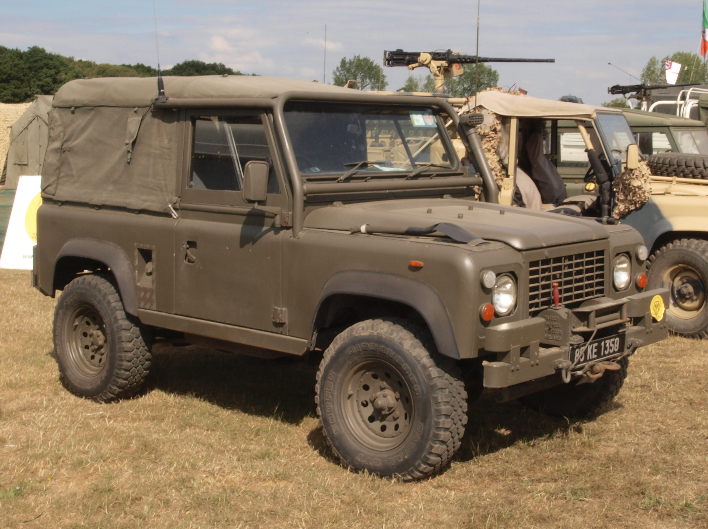 File Land Rover 90 1985 Jpg Wikimedia Commons