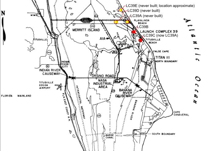 nasa complex 39 map - photo #13