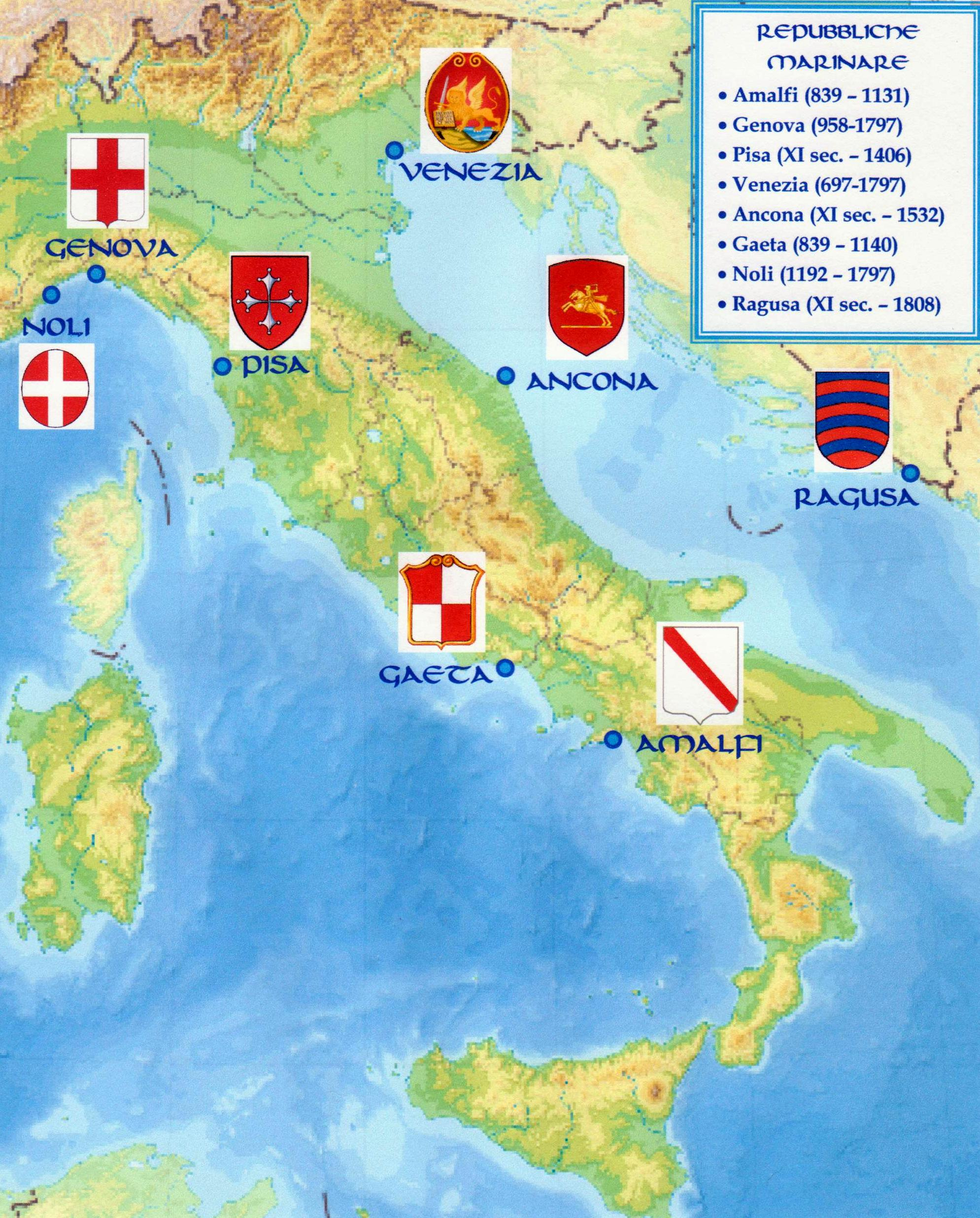 Detailed Map Of Italy In English.Italy In The Middle Ages Wikipedia