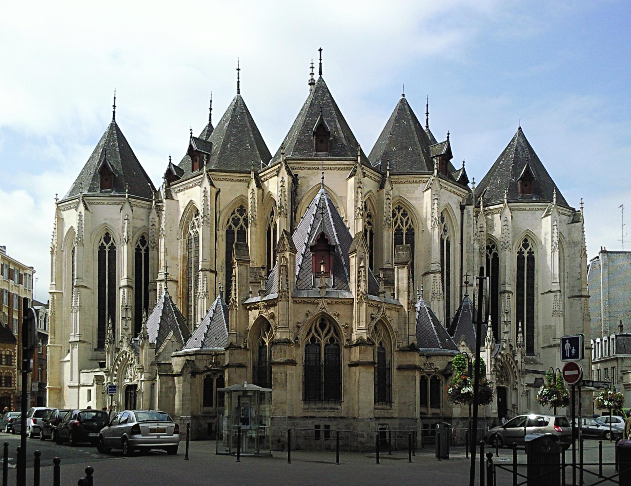 Lille France  city pictures gallery : Église Saint Maurice, rue de Paris