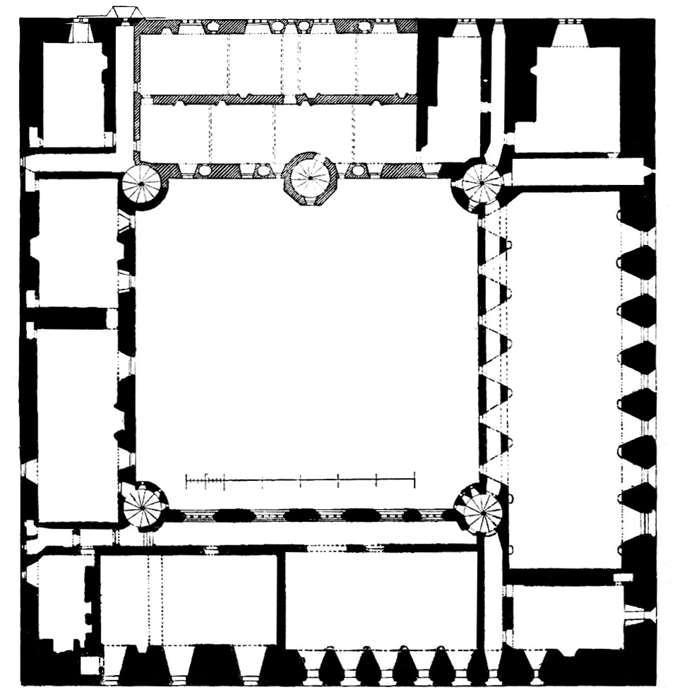 file linlithgow palace floor plan second floor jpg wikimedia commons