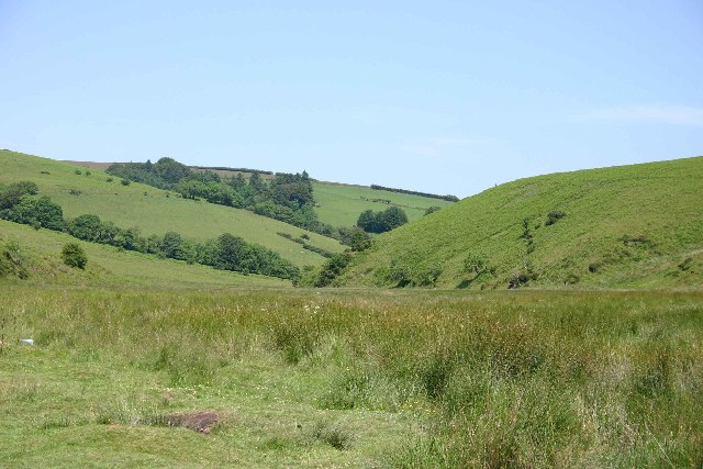 Local beauty spot near Landacre bridge - geograph.org.uk - 82040