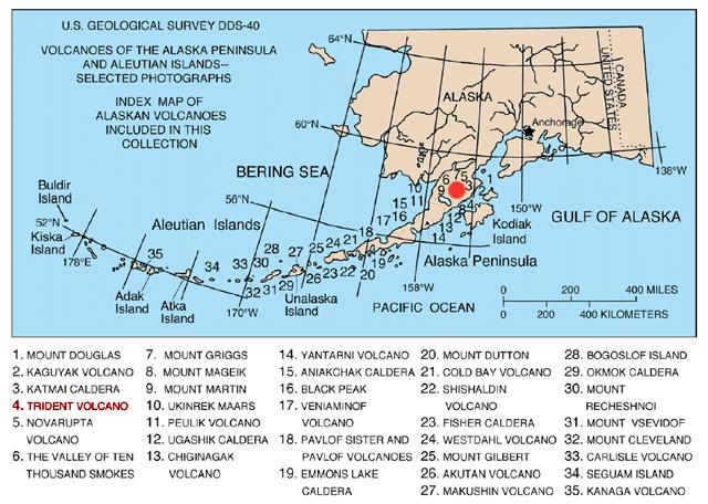 Alaska Map Volcano.File Map Of Alaska Volcanoes Trident Jpg Wikimedia Commons