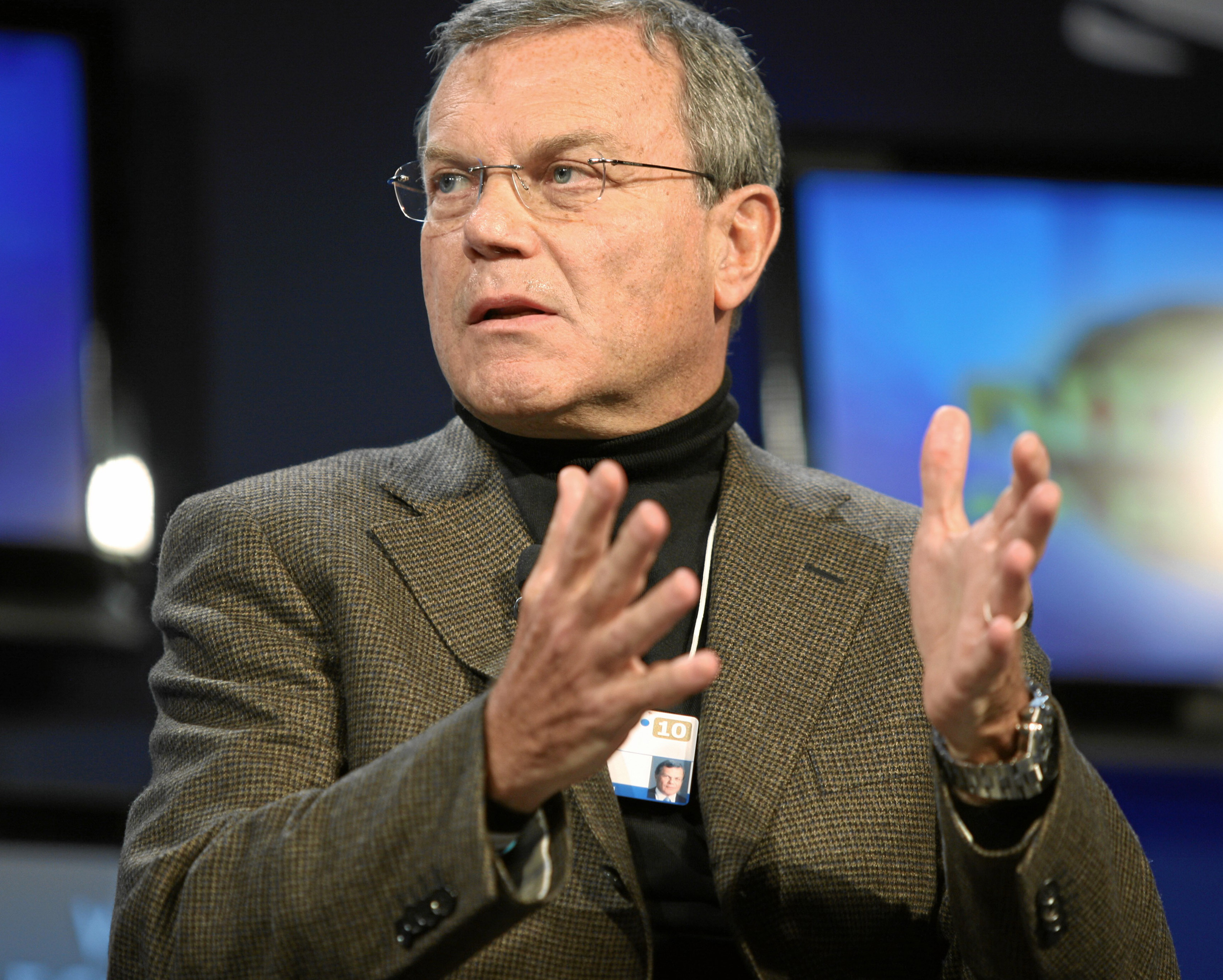 Martin Sorrell Martin Sorrell Wikipedia the free encyclopedia