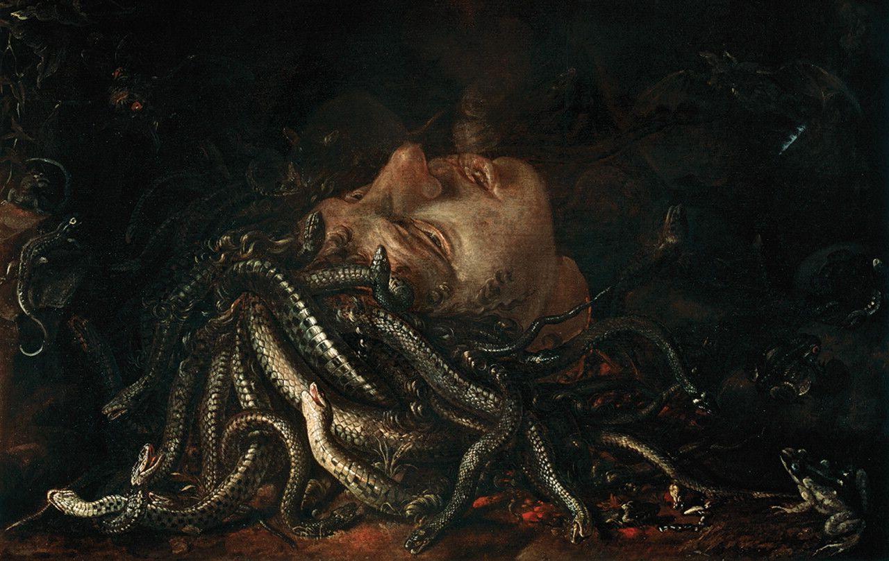 Medusa uffizi