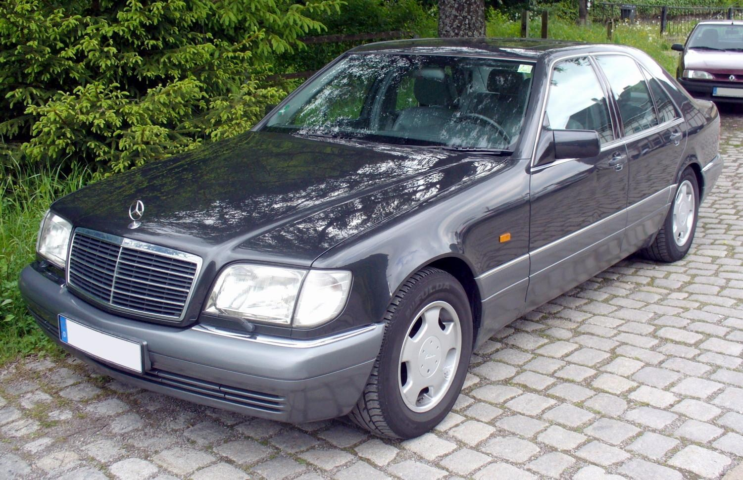 Mercedes benz w140 wikiwand for Mercedes benz w