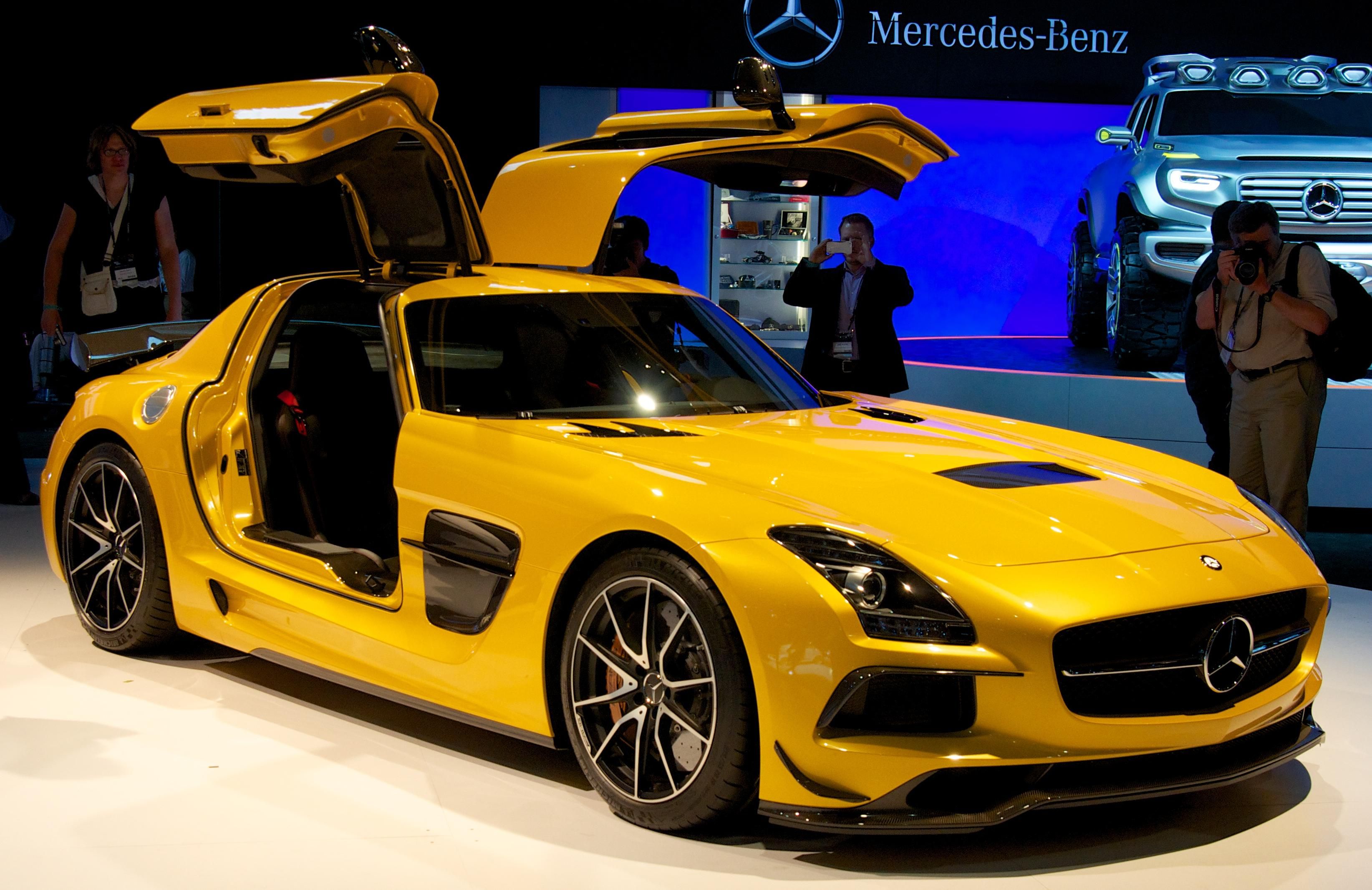 Mercedes Sls Black Edition For Sale Uk