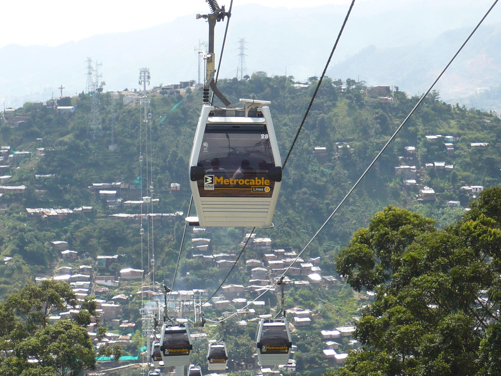 Medellin Cable Car Park