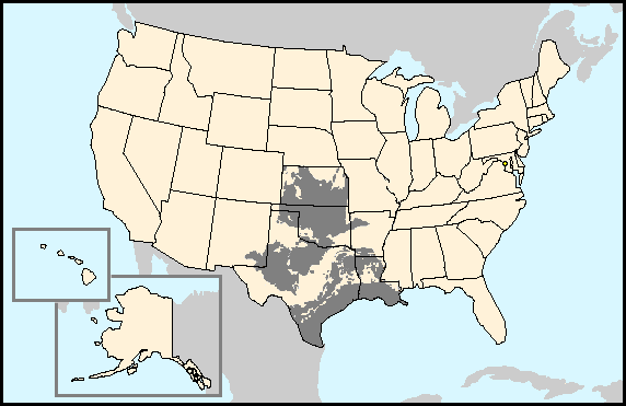MidContinent Oil Province Wikipedia - Oil from texas in us map