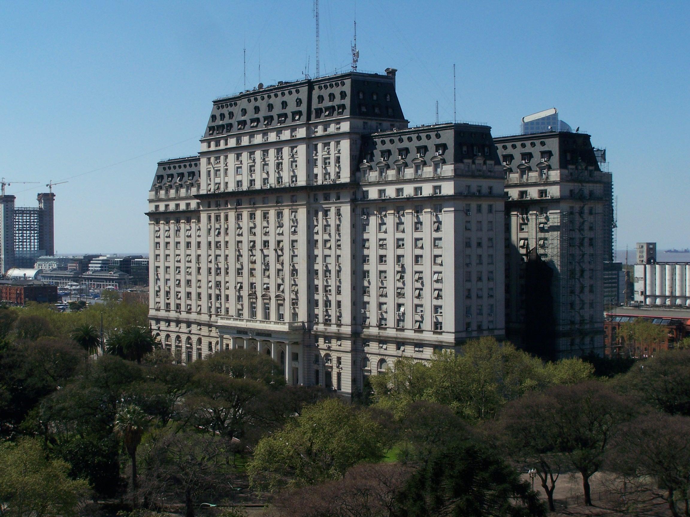 File ministerio de defensa argentina edificio libertador for Ministerio de defenza